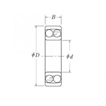 RHP NLJ1/2 self aligning ball bearings