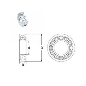 ZEN 6319-2Z deep groove ball bearings