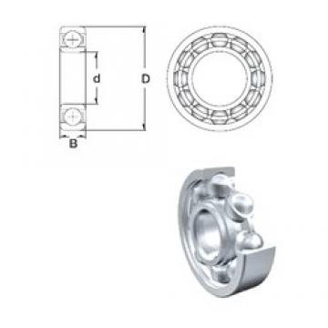 ZEN 61876 deep groove ball bearings