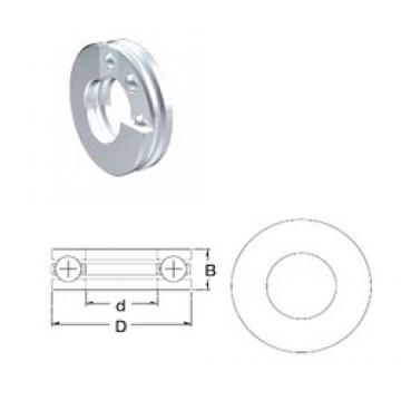 ZEN 51100 thrust ball bearings