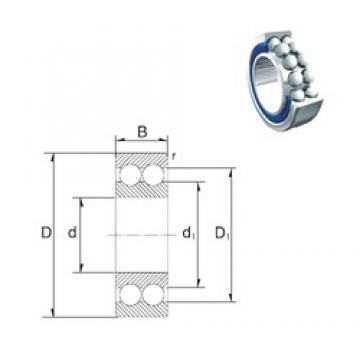 ZEN 5210-2RS angular contact ball bearings