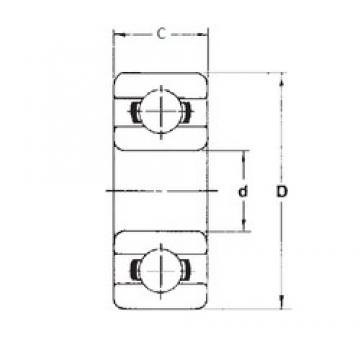 FBJ 696 deep groove ball bearings