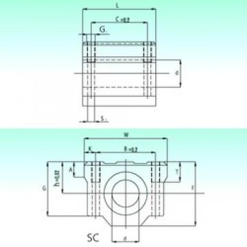 NBS SC 13-UU AS linear bearings