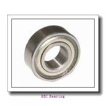 KBC 6017DD deep groove ball bearings