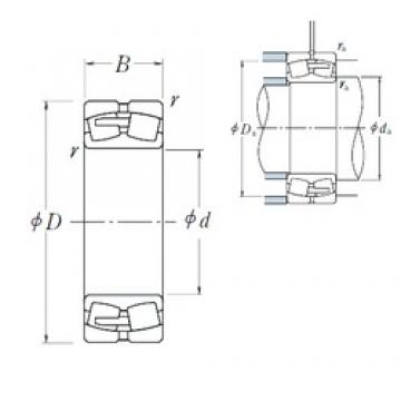 NSK 23048CAE4 spherical roller bearings
